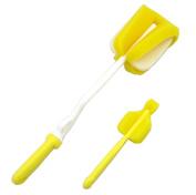 Nanxson(TM) Baby Rotary Spinning Bottle and Nipple Brush set (BPA Free) FJET0019
