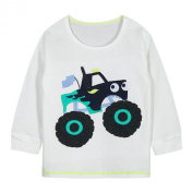 Baby Box Baby Boys' kids Toddler long sleeve truck T-Shirts