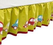 Hopscotch Car Dust Ruffle by Farallon Brands