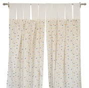 Pam Grace Creations 6 Piece Charming Forest Curtain Panels, Brown/Tan/Orange