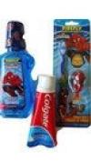 Superman 3pc. bundle, Mouthwash,Toothpaste,Toothbrush