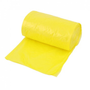 Roll Home Disposable Rubbish Garbage Waste Bag 50cm X 60 cm Yellow