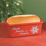 "Abbey Press 6 x 8.9cm x 5.7cm ""True Gifts of Christmas"" Loaf Pan, Mini"