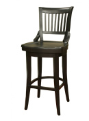 American Heritage Billiards Liberty Counter Height Stool, Black