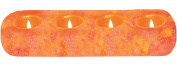 WBM Himalayan Natural Crystal Salt 4 Tealights Candle Holder