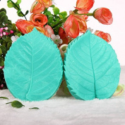 Leaf Press Mould Shaped Silicone Mould Cake Decoration Fondant