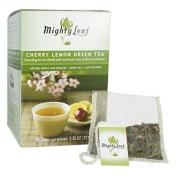 Mighty Leaf Cherry Lemon Green Tea - 15 Whole Leaf Tea Pouches