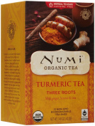 Numi Organic Tea Turmeric Tea - Three Roots - 12 Count