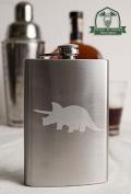 Triceratops Dinosaur 240ml Stainless Steel Flask