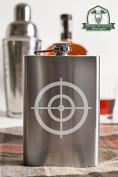 Bullseye Crosshairs 240ml Stainless Steel Flask