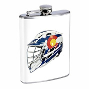 Perfection In Style Stainless Steel Flask Colorado Flag Design 006 240ml