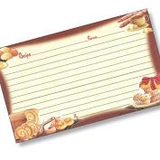 7.6cm X 13cm Recipe Card Our Daily Bread