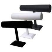 Medium T Bar Display - black leatherette