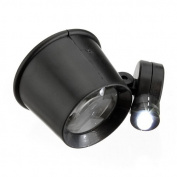 New LED Light 10x Jewellery Magnifier Magnifying Watch Repair Eye Loupe Glass Tool