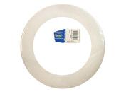 FloraCraft Styrofoam Wreath Flat Ring 23cm x 3.2cm x 0.190cm White