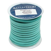 Deerskin Lace Cord Leather String 1.5m TURQUOISE