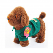 2015 Robot Dog New Brand Plush Electronic Toys Electronic Pet Puppy Dog Toys for Children Brown
