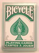 Bicycle 808 Fashion Teal Rider Back Playing Cards