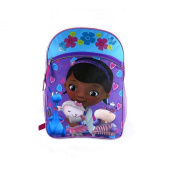 Doc McStuffins Blue and Pink Backpack with Pink and Blue Lunch Tote