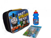 Thomas and Friends Insulated Lunch Bag Water Bottle andstationerySet