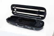 Sky VNCOF01 4/4 Full Size Luxurious Euro Style Violin Oblong Case with Hygrometer
