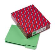 Smead Interior File Folder, 1/3-Cut Tab, Letter Size, Green, 100 per Box