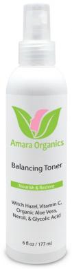 Amara Organics Facial Toner with Witch Hazel & Vitamin C, 180ml