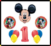 Disney Mickey Mouse Clubhouse '0.3m Happy Birthday Balloon Set Party Decoration