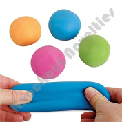 4 X Pull and Stretch Bounce Ball Colours may vary