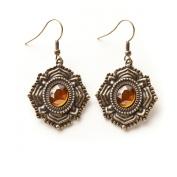 Kelly Rae Roberts Medallion Vintage Earrings