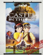 Anime family Anime Castle in the Sky Home Decor Poster Wall Scroll