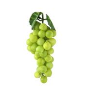 New Decorative Plastic Artificial Bunch Grapes Imitation Fruit Home Garden Decor
