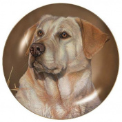 Sporting Dogs Yellow Lab 23cm Decorative Collector Plate