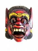 Barong Mask Wall Hanging Protection Good Luck Statue Bali Mask - 30cm - OMA® BRAND