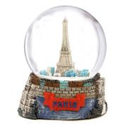 Paris Snow Globe, Eiffel Tower Snow Globe Souvenir 65mm, 3.5 Inches