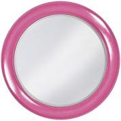 Howard Elliott 2118HP Saturn Mirror, Hot Pink