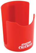 Master Magnetics 07582X6 Magnetic Cup Caddy, 8.9cm Length, 8.9cm Width, 12cm Height, Red