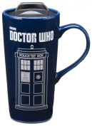 Vandor 16251 Doctor Who 590ml Heat Reactive Ceramic Travel Mug, Multicoloured