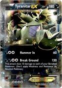 Pokemon - Tyranitar-EX (42/98) - Ancient Origins - Holo