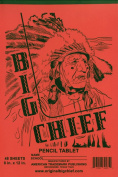 Big Chief Writing Tablet, Primary Grades, Vickers, 20cm X 30cm , 48 Sheets