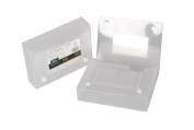 Filexec Products 10cm x 15cm Index Card Case, Clear, Pack of 2