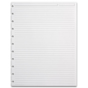 Levenger 300 Circa Full Page 0.6cm , Ruled Refill Sheets, LTR