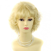 Classic Short Wig Curly Blonde Summer Style Ladies Wig by Wiwigs ®
