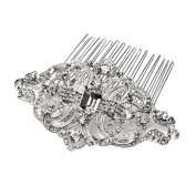 Clearbridal Women's Crystals Vintage Hair Comb Accessories Wedding Jewellery 18087