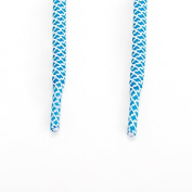 Rope Shoe Laces Two Tone - Blue / White