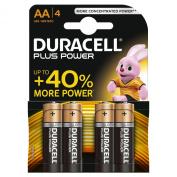 Duracell - Alkaline battery MN1500 PLUS blister 1.5V 1800mAh - Blister(s) x 4