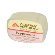Clearly Natural Glycerine Soap, Peppermint , 120ml