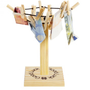 "BRUBAKER Clothesline for Money Gift ""Good Luck"""