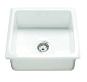Rak Ceramics GOSINK6 Gourmet Sink 6, Square Over/Under Counter
