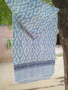 HANDICRAFTOFPINKCITY HAND BLOCK PRINT KANTHA QUILTS TWIN SIZE BED SHEET